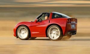 Corvette Photoshopped Smart Car