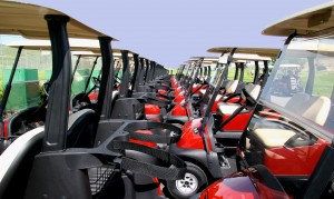 Small Penis Humiliation Red Golf Carts