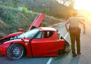 Red Ferrari Small Penis 300x210 Red Ferrari Crash   