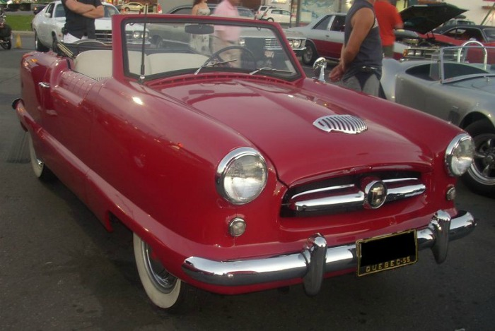 Mitt tried to buy 1955 Nash Metropolitan but 10K was too high